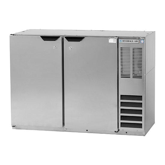 Beverage-Air BB48HC-1-S 48 (2) Section Bar Refrigerator -...