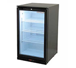 "Beverage Air CT96-1-B-LED 21"" Countertop Refrigerator w/ Front Access - Swing Door, Black, 115v"