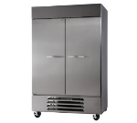 "Beverage Air HBF49-1-S 52"" Two Section Reach-In Freezer, (2) Solid Doors, 115v"