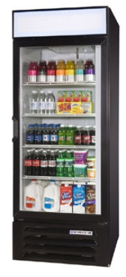 "Beverage Air LV23-1-B-LED 27"" One- Section Refrigerated Display w/ Swing Door, Bottom Mount Compressor, 115v"