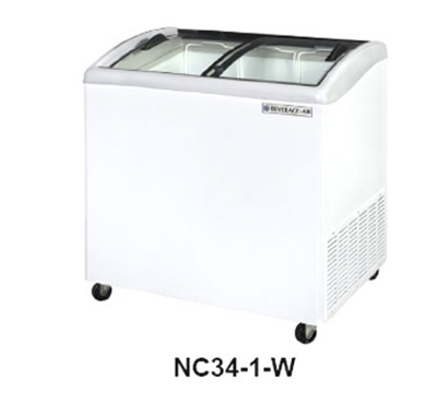 "Beverage Air NC51-1-W 50.64"" Novelty Case w/ Removable Lids & Locks, 10.9-cu ft, White"