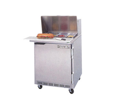 "Beverage Air SPE27C-B 27"" Sandwich/Salad Prep Table w/ Refrigerated Base, 115v"