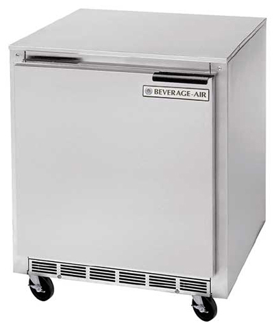Beverage Air UCF27A-24 27-in Undercounter Freezer, 7.3-cu ft, Stainless Exterior