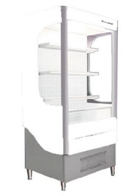 "Beverage Air VM12-1-W 35"" Vertical Open Air Cooler w/ (4) Levels, 115v"