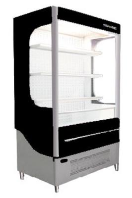 "Beverage Air VM18-1-B 51"" Vertical Open Air Cooler w/ (5) Levels, 115v"