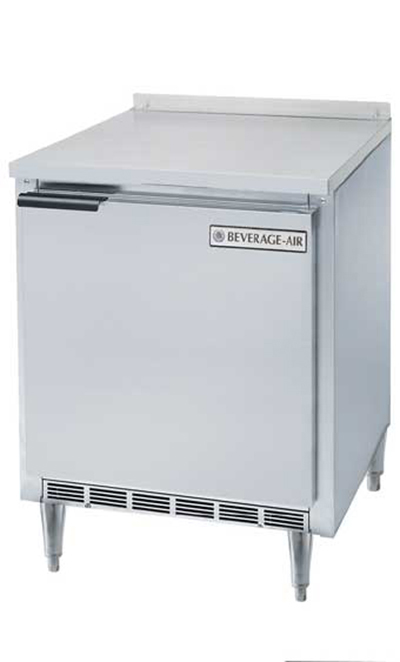 Beverage Air WTF27A-17 7.3-cu ft Worktop Freezer w/ (1) Section & (1) Door, 115v