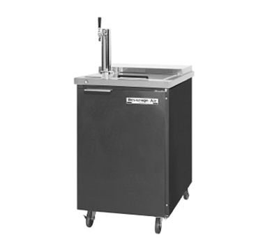 "Beverage Air BM23C-B 24"" Draft Beer System w/ (1) Keg Capacity - (1) Column, Black, 115v"