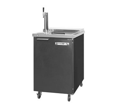 "Beverage Air BM23C-S 24"" Draft Beer System w/ (1) Keg Capacity - (1) Column, Stainless, 115v"