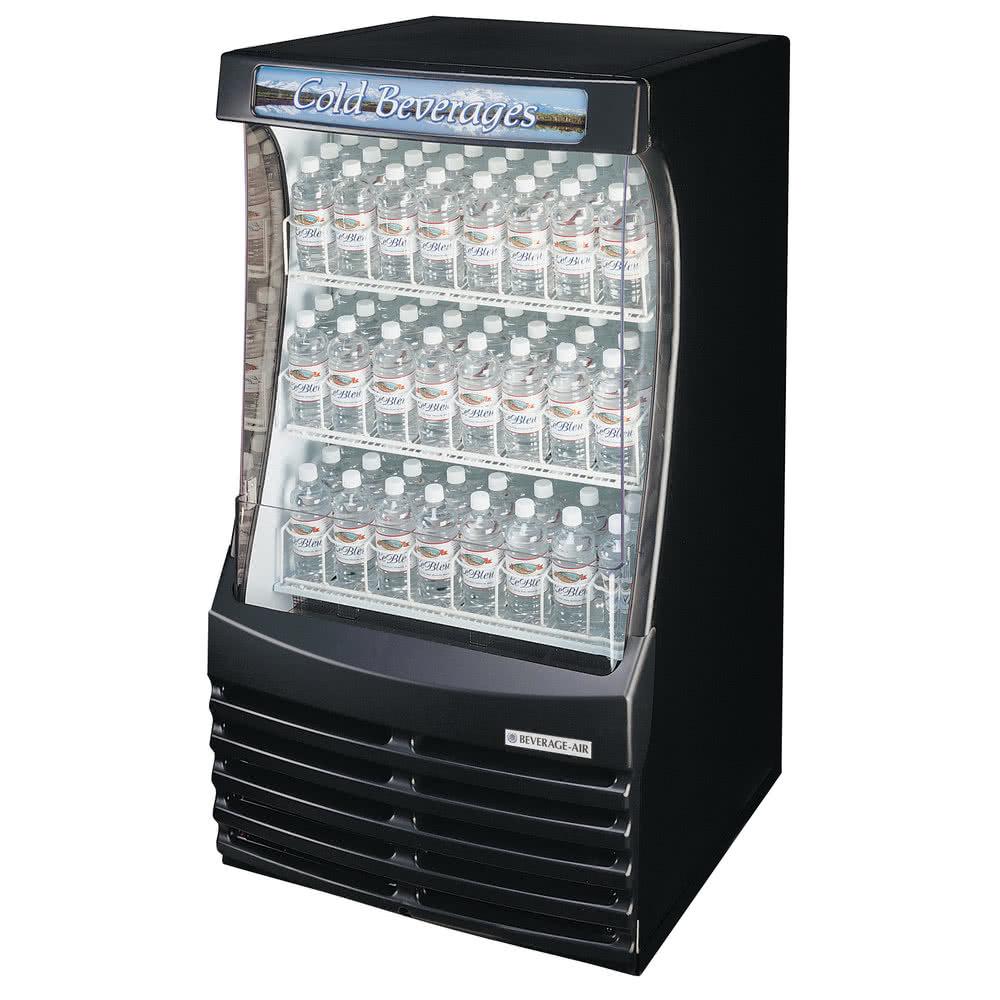 Beverage-Air BZ13-1-B 30 Vertical Open Air Cooler w/ (3) ...