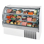 "Beverage Air CDR5/1-W-20 61"" Full Service Deli Case w/ Curved Glass - (3) Levels, 115v"