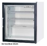 "Beverage Air CF3-1-B 23"" One-Section Display Freezer w/ Swinging Door - Rear Mount Compressor, 115v"