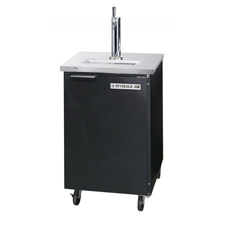 "Beverage Air DD36-1-S 36"" Draft Beer System w/ (1/2) Keg Capacity - (1) Column, Stainless, 115v"