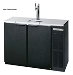 "Beverage Air DD48Y-1-S 48"" Draft Beer System w/ (2) Keg Capacity - (1) Column, Stainless, 115v"