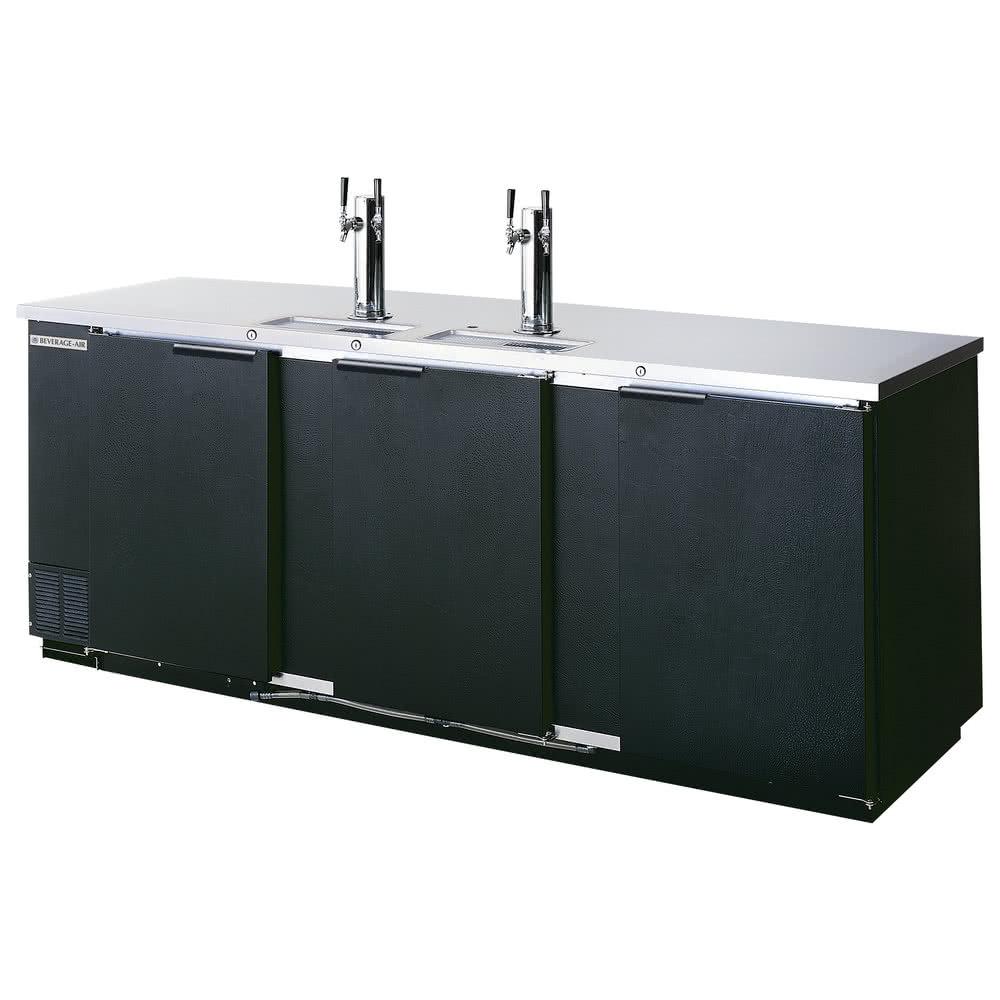 Beverage-Air DD78HC-1-B 79 Draft Beer System w/ (4) Keg C...