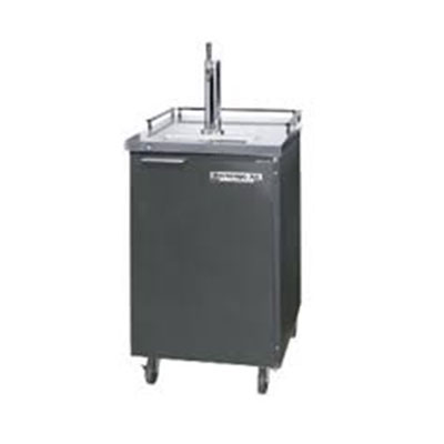 "Beverage Air DZ24-1-S 24"" Draft Beer System w/ (1) Keg Capacity - (1) Column, Stainless, 115v"