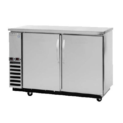 """Beverage Air DZ58-1-S-1-1 59"""" Solid Pull Out Drawer Bar Refrigerator, (2) Solid Keg Drawers, Stainless, 115v"""