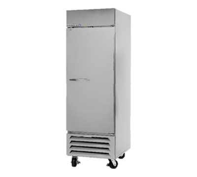 "Beverage Air FB23-1S 27.25"" Single Section Reach-In Freezer, (1) Solid Door, 115v"