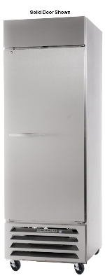 "Beverage Air HBF23-1-G 27.25"" One Section Reach-In Freezer, (1) Glass Door, 115v"