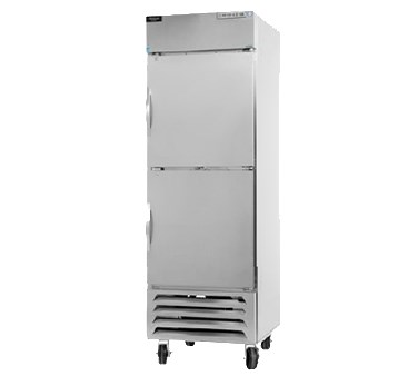 "Beverage Air HBF27-1-HS 30"" One Section Reach-In Freezer, (2) Solid Doors, 115v"