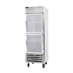 "Beverage Air HBR23-1-HG 28"" Single Section Reach-In Refrigerator, (2) Glass Door, 115v"