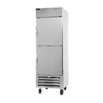 "Beverage Air HBR72-1-HS 75"" Three Section Reach-In Refrigerator, (6) Solid Door, 115v"