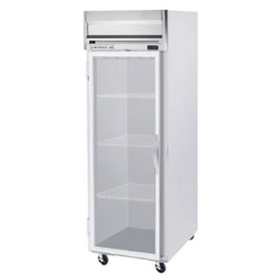 "Beverage Air HFS1-1G 26"" One Section Reach-In Freezer, (1) Glass Door, 115v"
