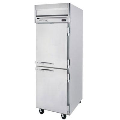 "Beverage Air HR1-1HS 26"" Single Section Reach-In Refrigerator, (2) Solid Door, 115v"
