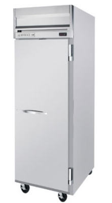 "Beverage Air HR1-1S 26"" Single Section Reach-In Refrigerator, (1) Solid Door, 115v"