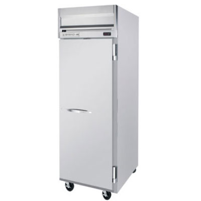 "Beverage Air HR1W1S 35"" Single Section Reach-In Refrigerator, (1) Solid Door, 115v"