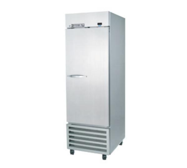 "Beverage Air KF24-1AS 26"" Single Section Reach-In Freezer, (1) Solid Door, 115v"