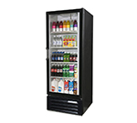 "Beverage Air LV23-1-W-LED 27"" One-Section Glass Door Merchandiser w/ Swing Door, 115v"
