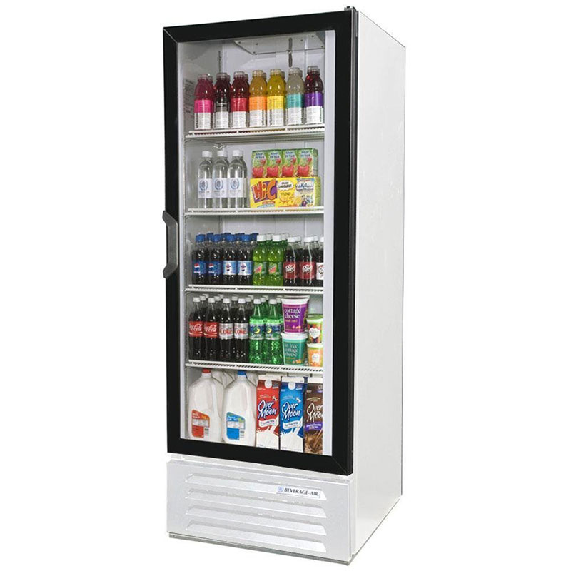 "Beverage Air LV12-1-W-LED 24"" One-Section Refrigerated Display w/ Swing Door, Bottom Mount Compressor, 115v"