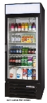 "Beverage Air LV27-1-W-LED 30"" One-Section Refrigerated Display w/ Swing Door, Bottom Mount Compressor, 115v"