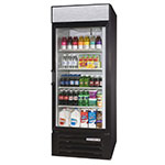"Beverage Air LV23HC-1-B 27"" One-Section Glass Door Merchandiser w/ Swing Door, 115v"