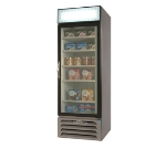 "Beverage Air MMF23-1-W-LED 27.25"" One-Section Display Freezer w/ Swinging Door - Bottom Mount Compressor, 115v"