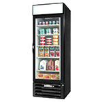 "Beverage Air MMR23HC-1-B 27.25"" One-Section Glass Door Merchandiser w/ Swing Door, 115v"