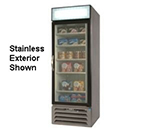 "Beverage Air MMR27-1-B-LED 30"" One-Section Refrigerated Display w/ Swing Door, Bottom Mount Compressor, 115v"