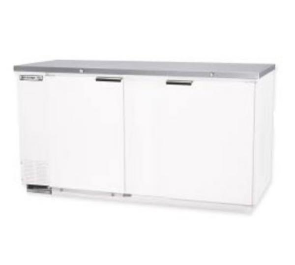 Beverage Air MS68-1-S 28.4-cu ft Undercounter Refrigerator w/ (2) Sections & (2) Doors, 115v