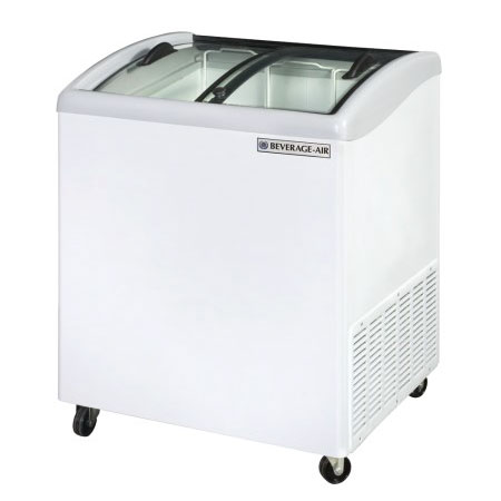 Beverage-Air NC28-1-W 28.2 Mobile Ice Cream Freezer w/ 2-...