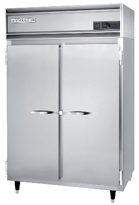 Beverage Air PH2-1S-PT Pass-Thru Warming Cabinet w/ 4-Doors, Aluminum Exterior, 48-cu ft