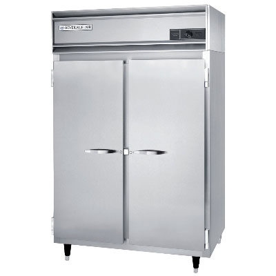 Beverage Air PH2-1S-PT Pass-Thru Warming Cabinet w/ 4-Doors, Aluminum Exterior, 48-cu ft