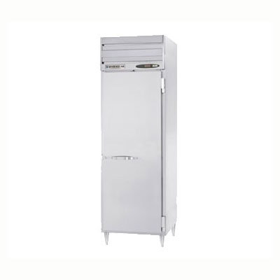 "Beverage Air PRD1-1AS 26"" Single Section Pass-Thru Refrigerator, (2) Solid Doors, 115v"