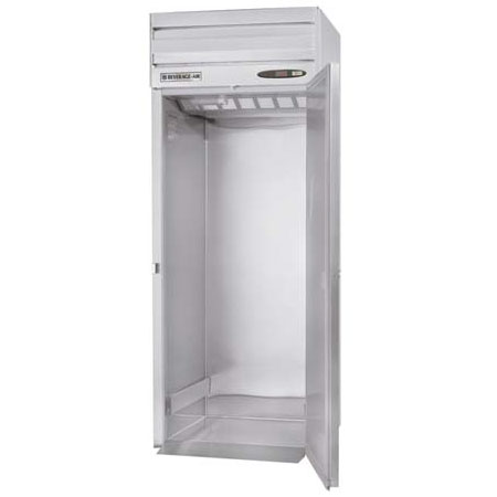 "Beverage Air PRI1-1AS 33"" Single Section Roll-In Refrigerator, (1) Solid Door, 115v"