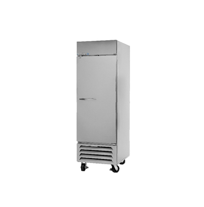 "Beverage Air RB27-1S 30"" Single Section Reach-In Refrigerator, (1) Solid Door, 115v"