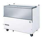 Beverage Air SM49N-W Milk Cooler w/ Top & Side Access - (768) Half Pint Carton Capacity, 115v