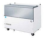 Beverage Air SM49N-W-02 Milk Cooler w/ Top & Side Access - (768) Half Pint Carton Capacity, 115v