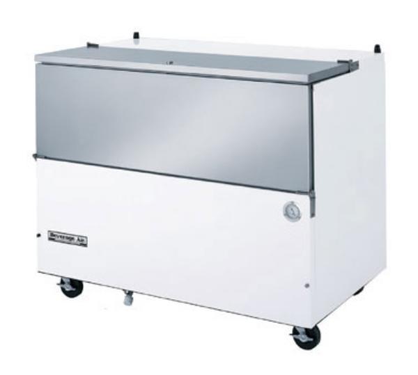 Beverage Air SM58N-S Milk Cooler w/ Top & Side Access - (1024) Half Pint Carton Capacity, 115v