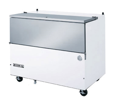 Beverage Air SM58N-W Milk Cooler w/ Top & Side Access - (1024) Half Pint Carton Capacity, 115v