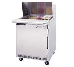 "Beverage Air SPE27A 27"" Sandwich/Salad Prep Table w/ Refrigerated Base, 115v"