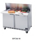 "Beverage Air SPE36-10 36"" Sandwich/Salad Prep Table w/ Refrigerated Base, 115v"